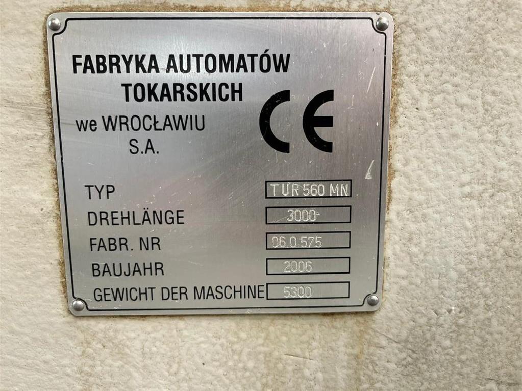 Токарный станок с ЧПУ HACO TUR 560 MN фото на Industry-Pilot