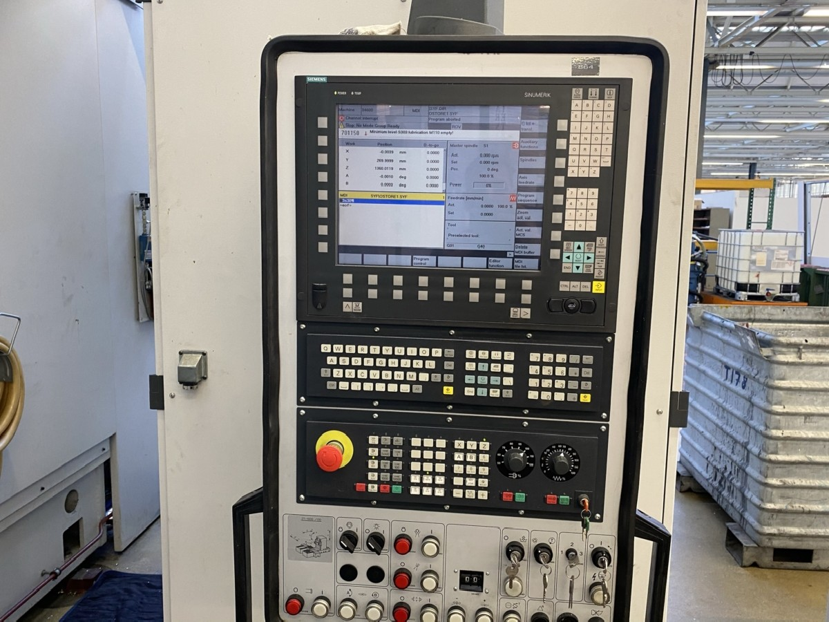 Обрабатывающий центр - вертикальный HECKERT ZT1000/130 фото на Industry-Pilot