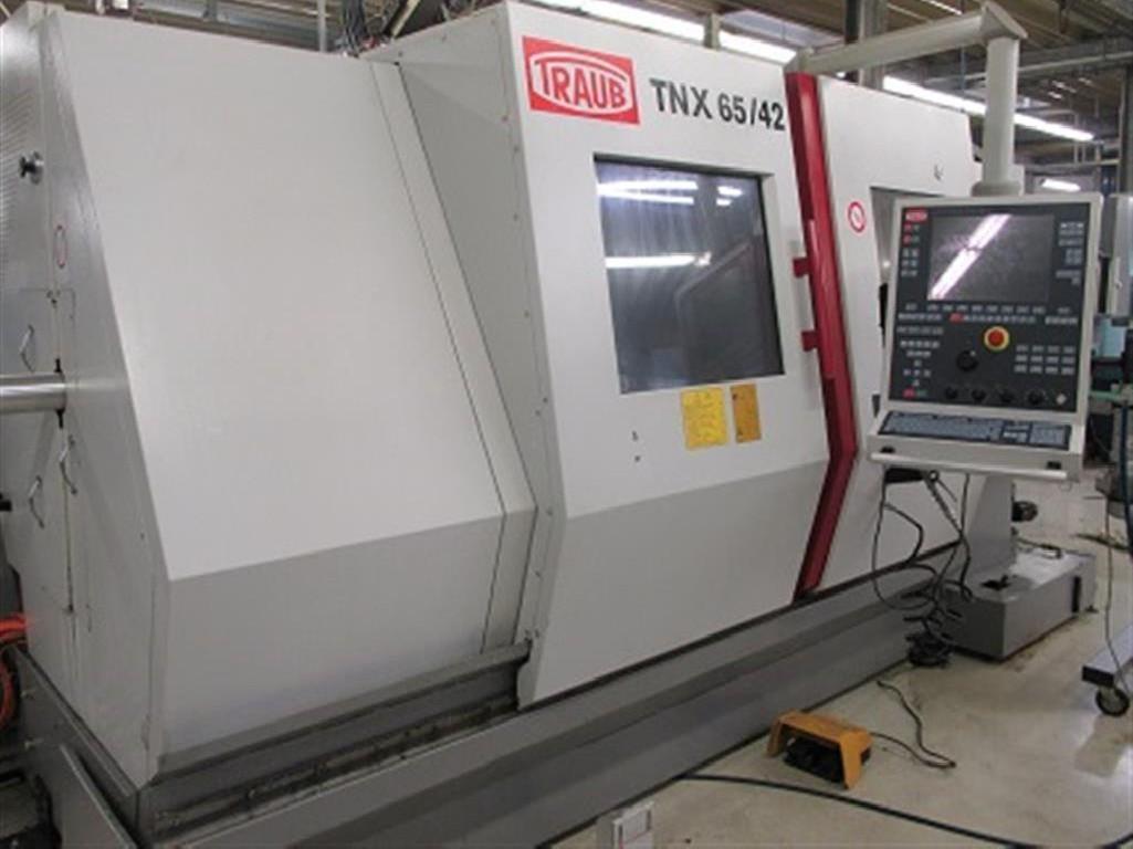 Токарно фрезерный станок с ЧПУ TRAUB TNX 65/42 фото на Industry-Pilot