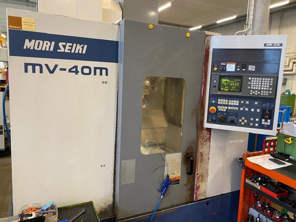 Обрабатывающий центр - вертикальный MORI SEIKI MV 40 M фото на Industry-Pilot