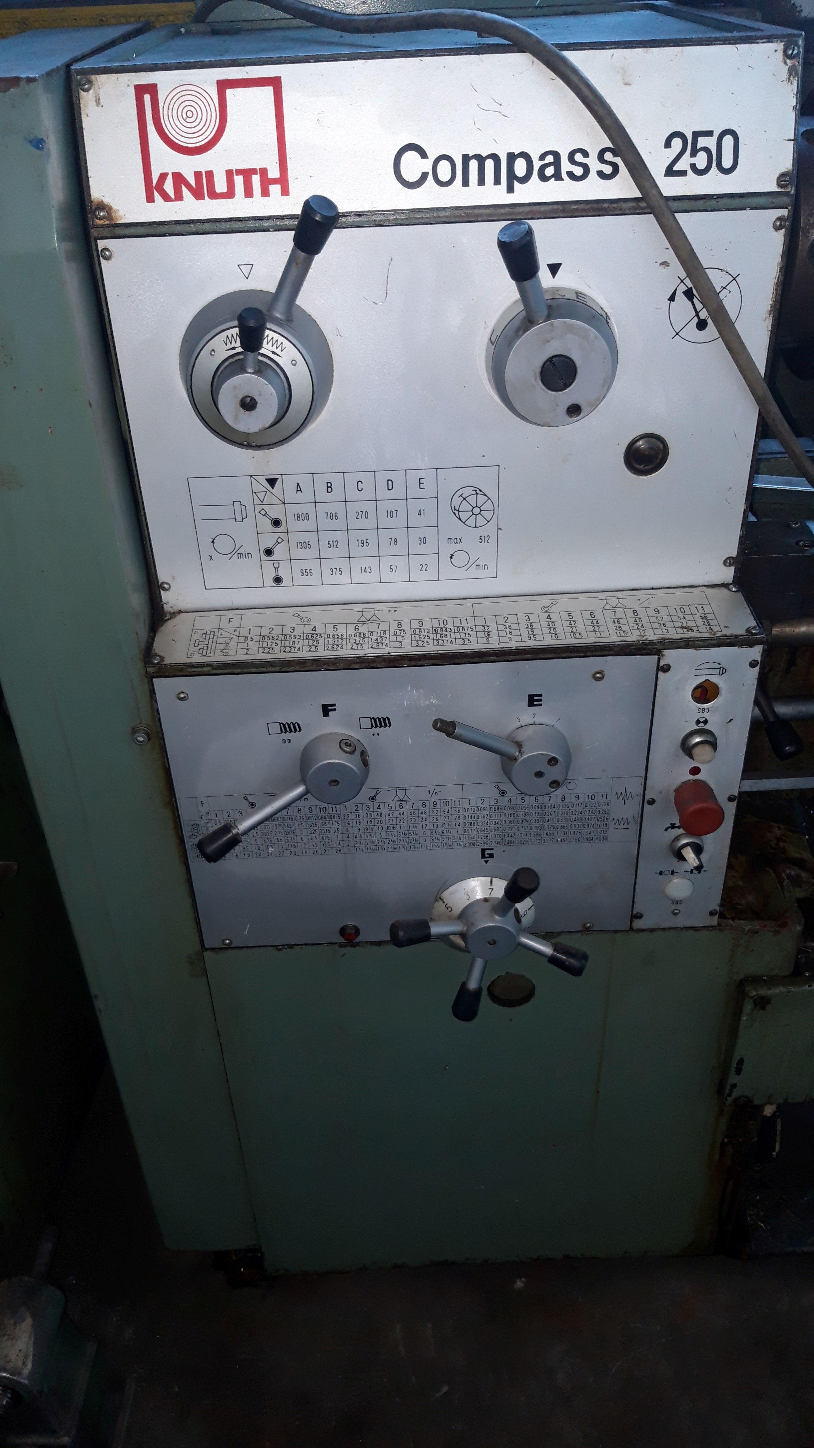 Токарный станок с ручным управлением KNUTH Compass 250 фото на Industry-Pilot
