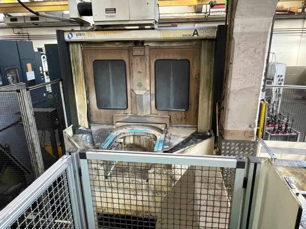 Обрабатывающий центр - горизонтальный MAKINO A99-A132 фото на Industry-Pilot