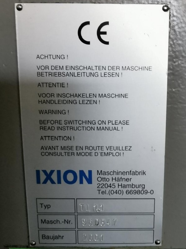 Станок для глубокого бурения IXION TL 1.1 фото на Industry-Pilot
