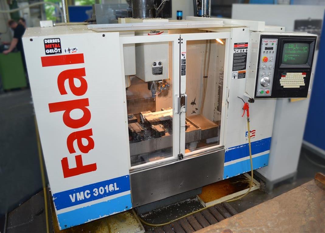 Обрабатывающий центр - вертикальный FADAL VMC 3016L фото на Industry-Pilot