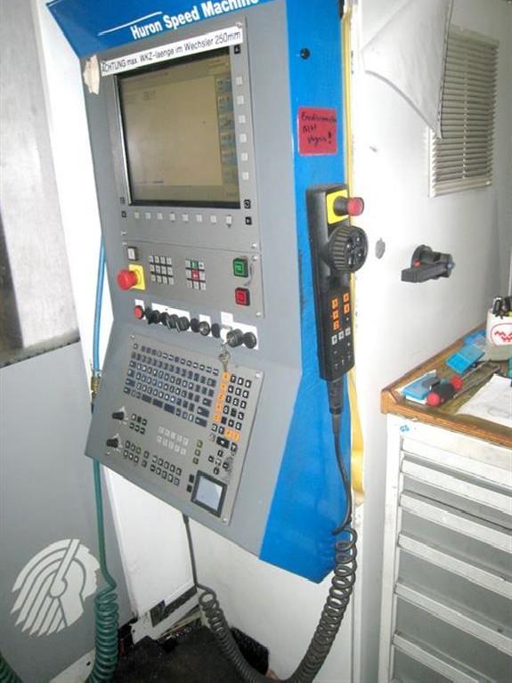 Обрабатывающий центр - универсальный HURON K2X 10 five фото на Industry-Pilot