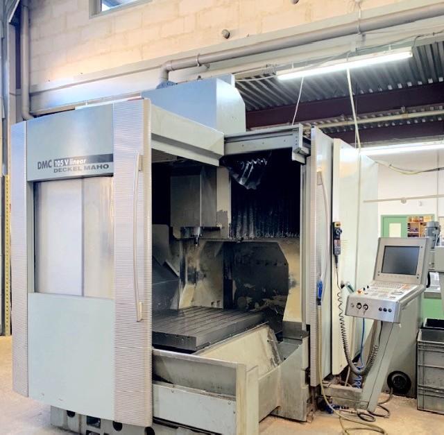 Обрабатывающий центр - вертикальный DMG DMC 105 V Linear фото на Industry-Pilot