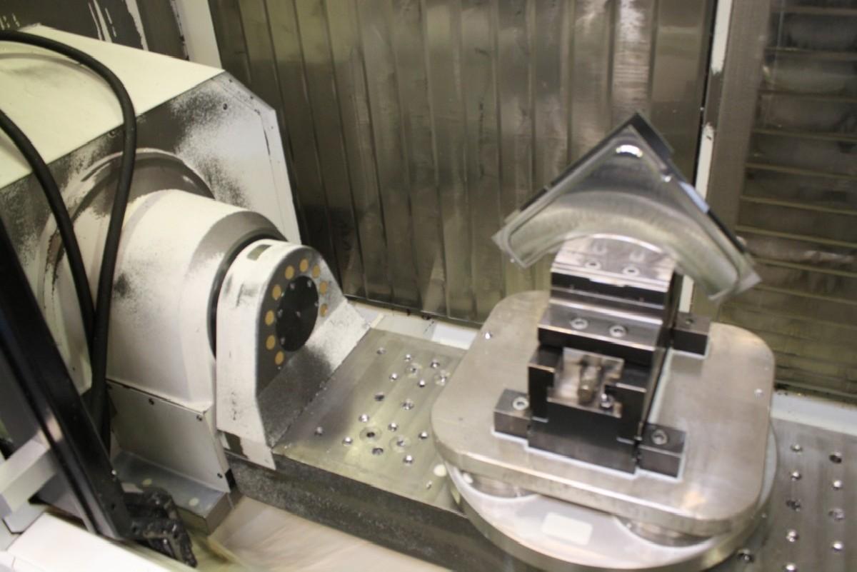 Обрабатывающий центр - вертикальный CHIRON Mill FZ 800 high speed plus фото на Industry-Pilot