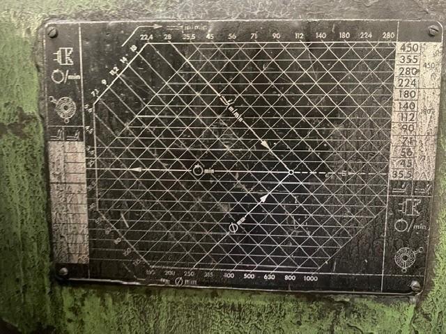 Токарно-винторезный станок WEIPERT W900 фото на Industry-Pilot