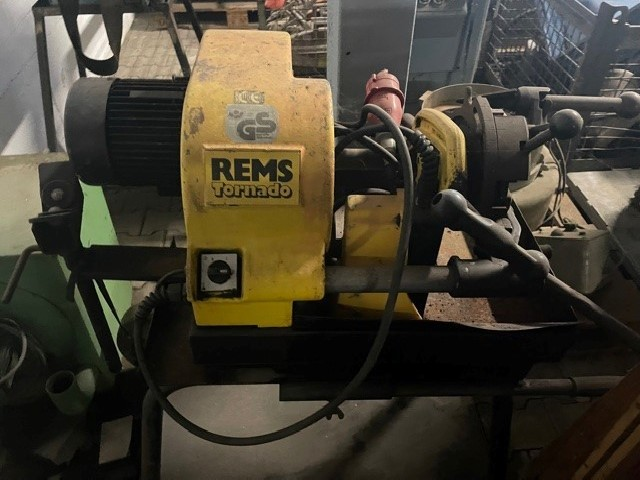 Резьбонарезной станок REMS Tornado фото на Industry-Pilot