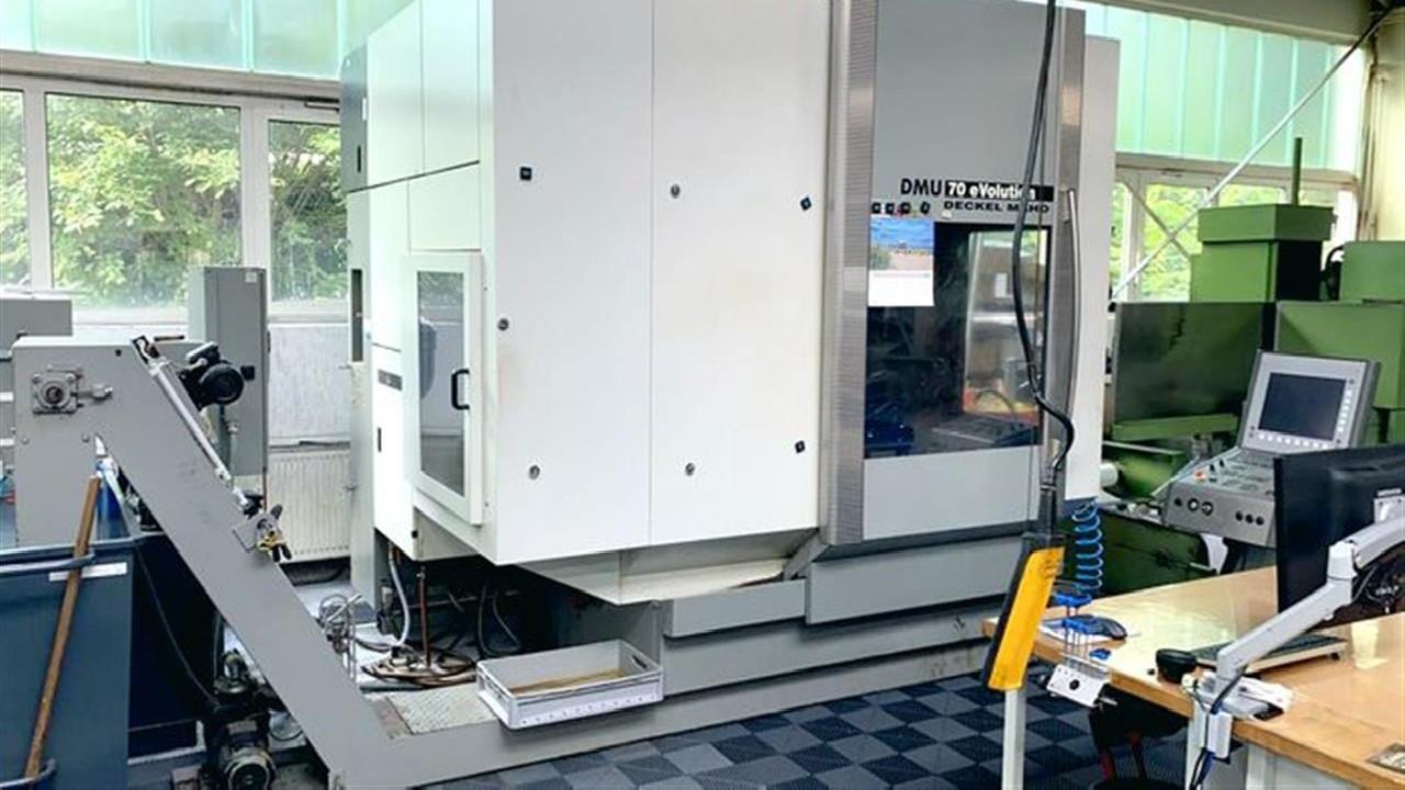 Обрабатывающий центр - универсальный DECKEL DMU 70  eVolution фото на Industry-Pilot