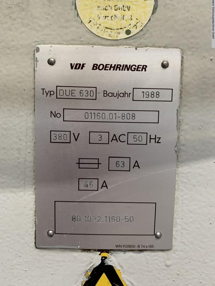 Токарно-винторезный станок BOEHRINGER DUE 630 x 1000 фото на Industry-Pilot