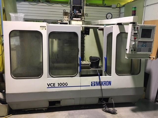 Обрабатывающий центр - вертикальный MIKRON - HAAS VCE 1000   VF 3 фото на Industry-Pilot