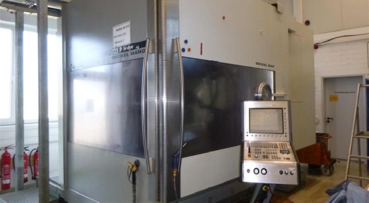 Обрабатывающий центр - универсальный DECKEL DMU 125 P hidyn фото на Industry-Pilot