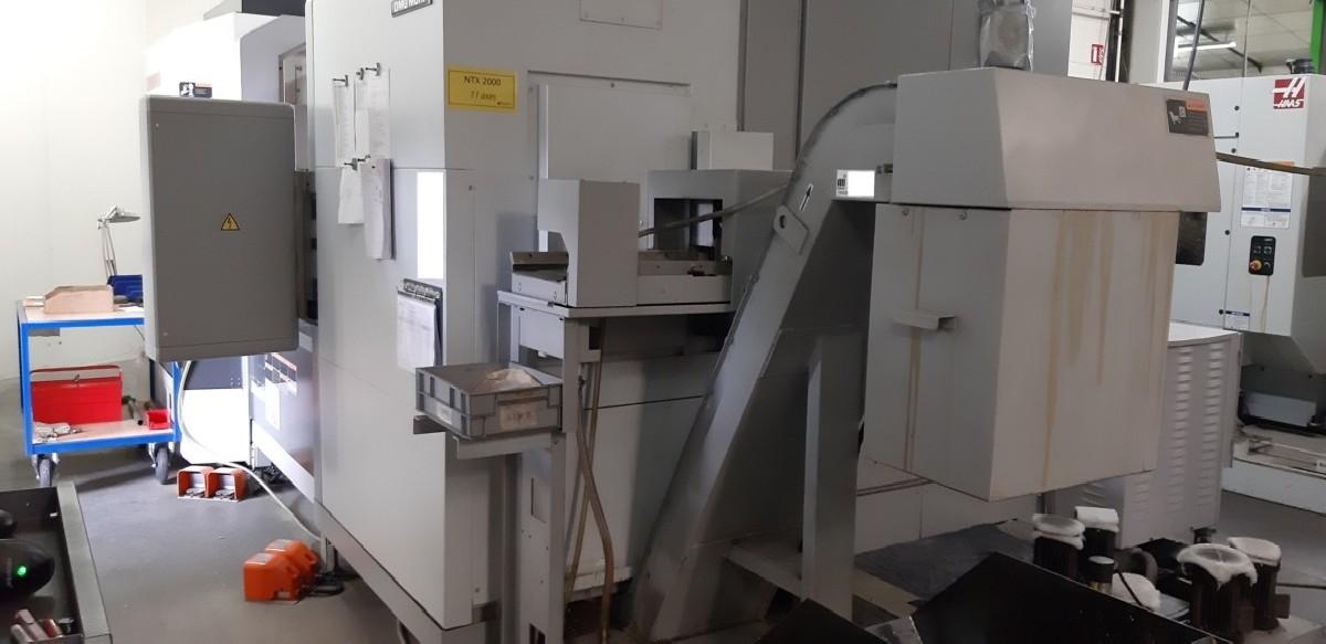 Токарно фрезерный станок с ЧПУ DMG MORI NTX 2000 / 1500 SZM фото на Industry-Pilot
