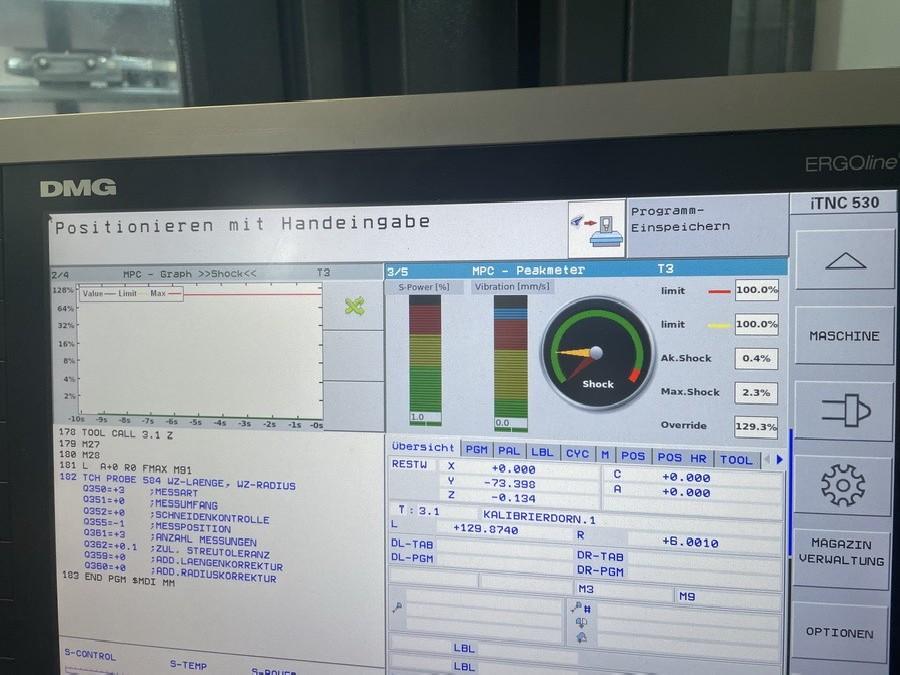 Обрабатывающий центр - универсальный DECKEL MAHO DMU 85 monoBLOCK #103 фото на Industry-Pilot