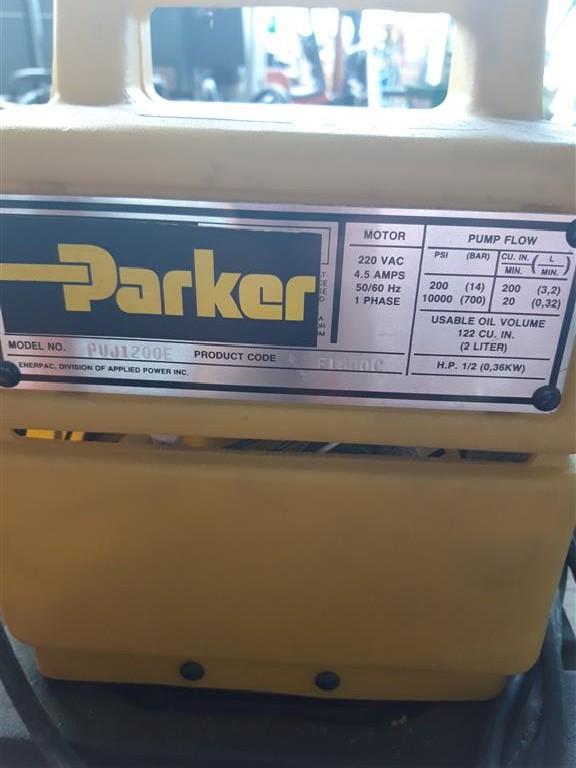 Насосный агрегат Parker PUJ1200E фото на Industry-Pilot