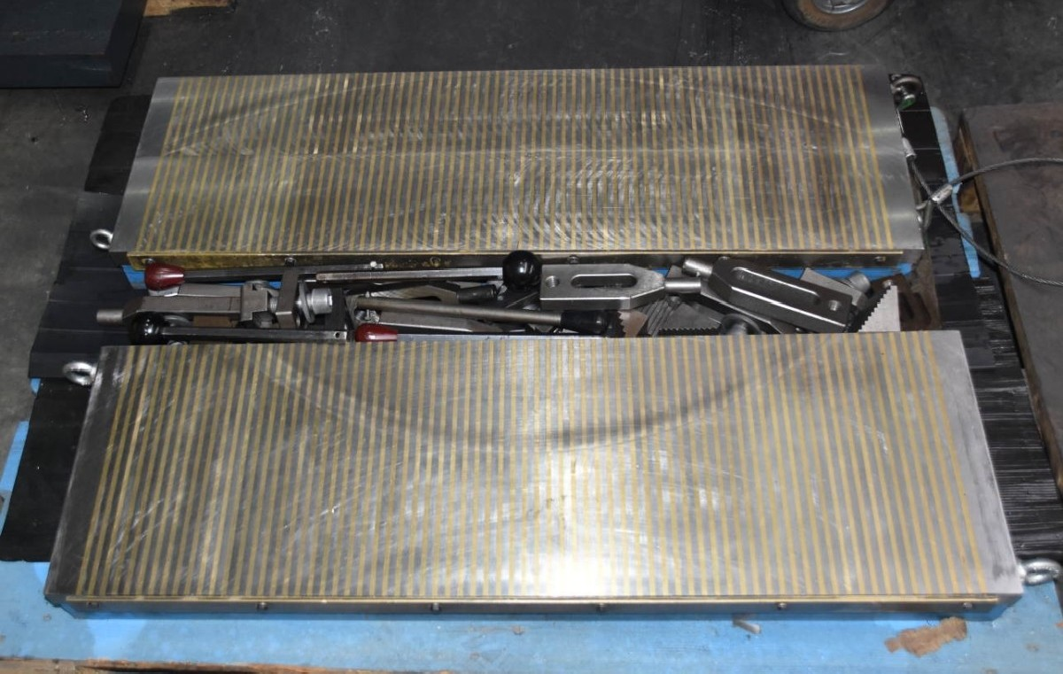 Магнитная зажимная плита   фото на Industry-Pilot