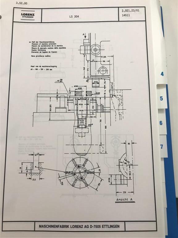 Зубодолбёжный станок LORENZ LS304 фото на Industry-Pilot