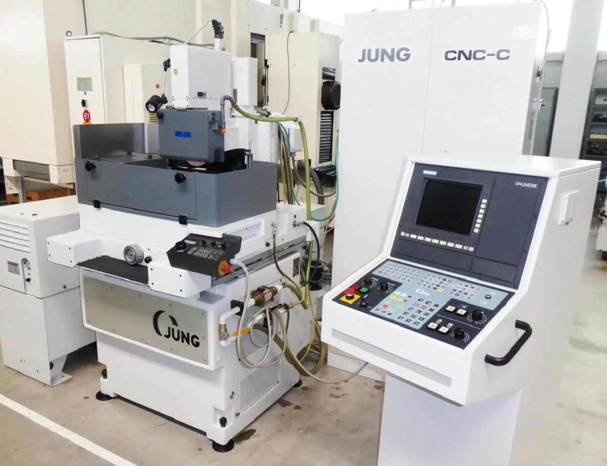 Плоскошлифовальный станок с круглым столом JUNG JR 350 CNC C фото на Industry-Pilot