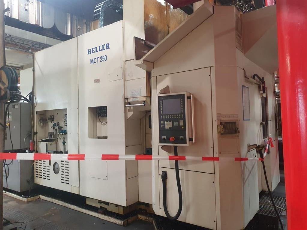 Обрабатывающий центр - горизонтальный HELLER MCT250 фото на Industry-Pilot