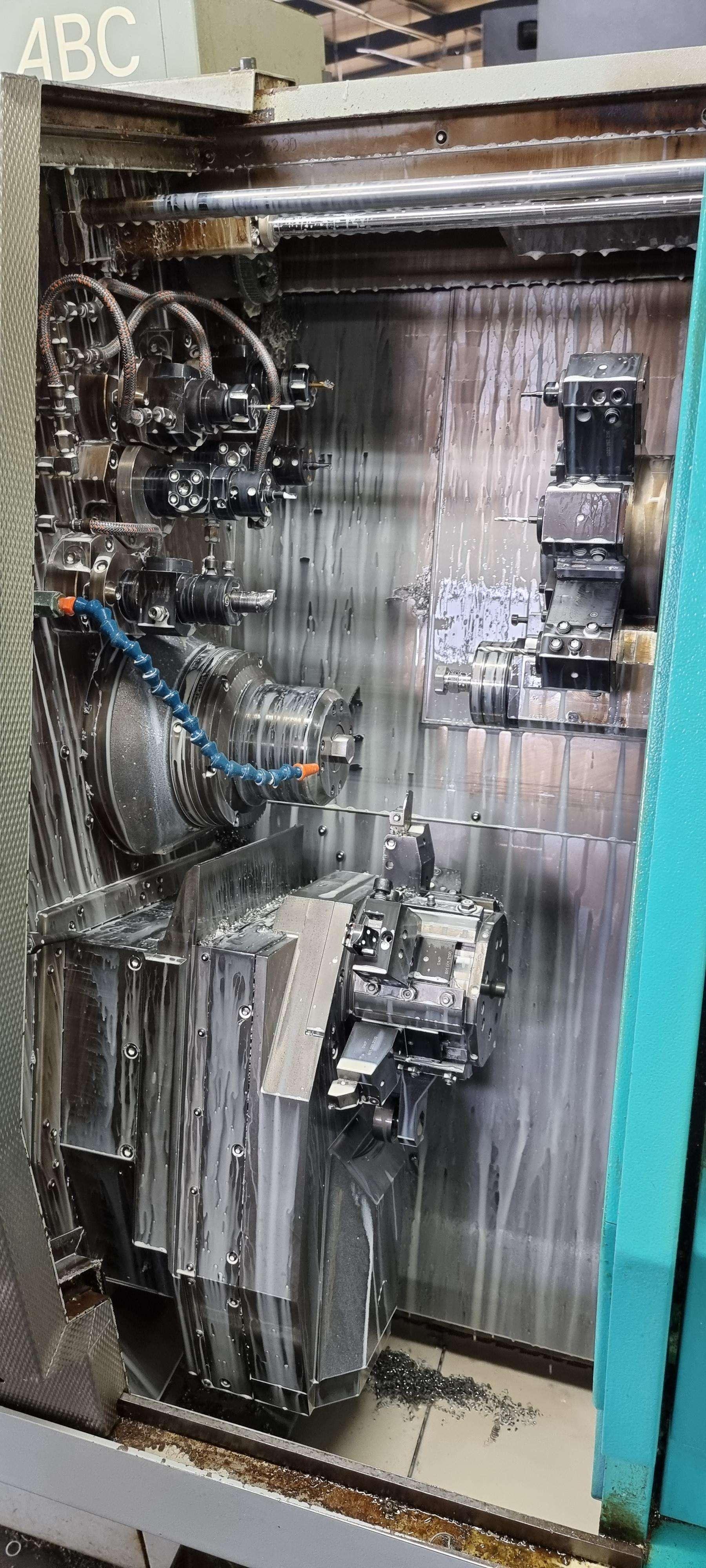 Прутковый автомат Одношпинд. Index ABC фото на Industry-Pilot