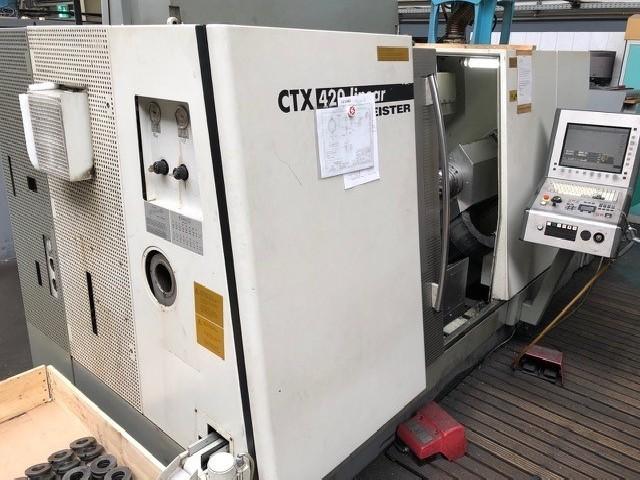 Токарно фрезерный станок с ЧПУ GILDEMEISTER CTX 420 Y фото на Industry-Pilot