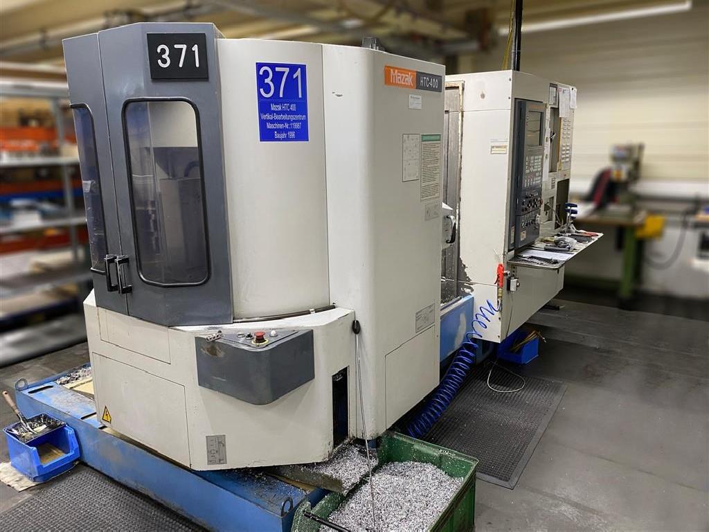 Обрабатывающий центр - вертикальный MAZAK HTC 400 фото на Industry-Pilot