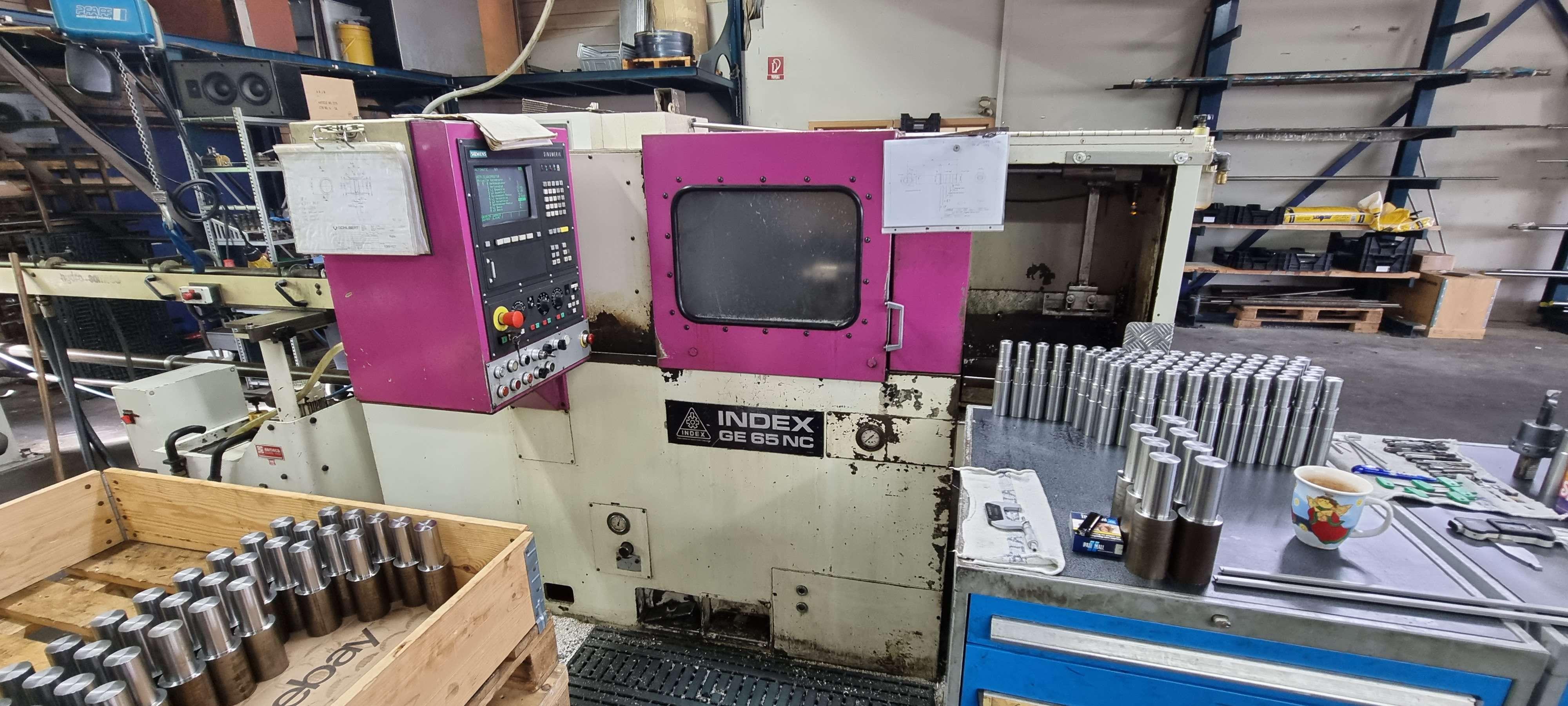CNC Turning Machine INDEX GE 65 NC