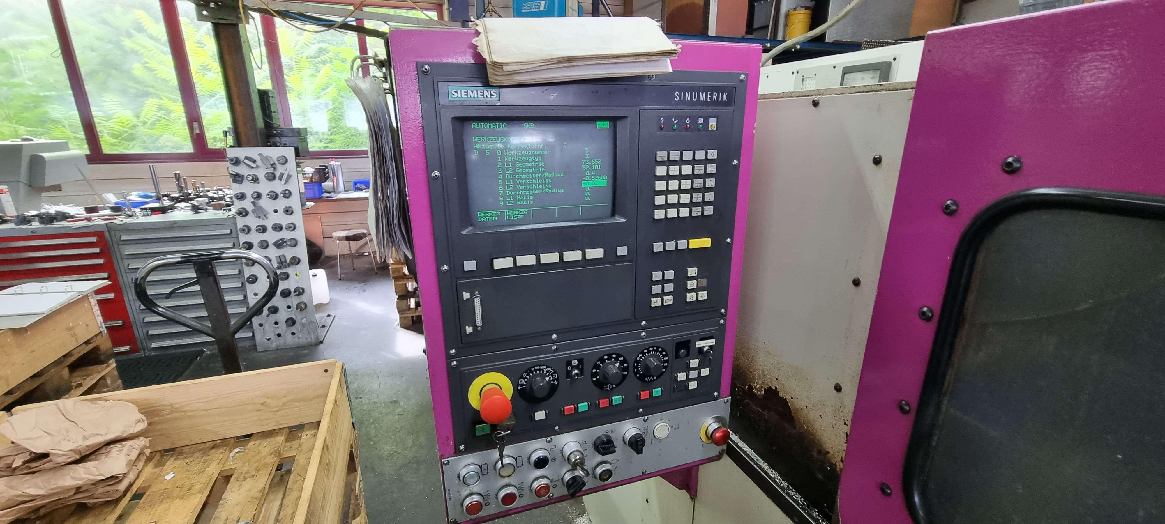 Токарный станок с ЧПУ INDEX GE 65 NC фото на Industry-Pilot
