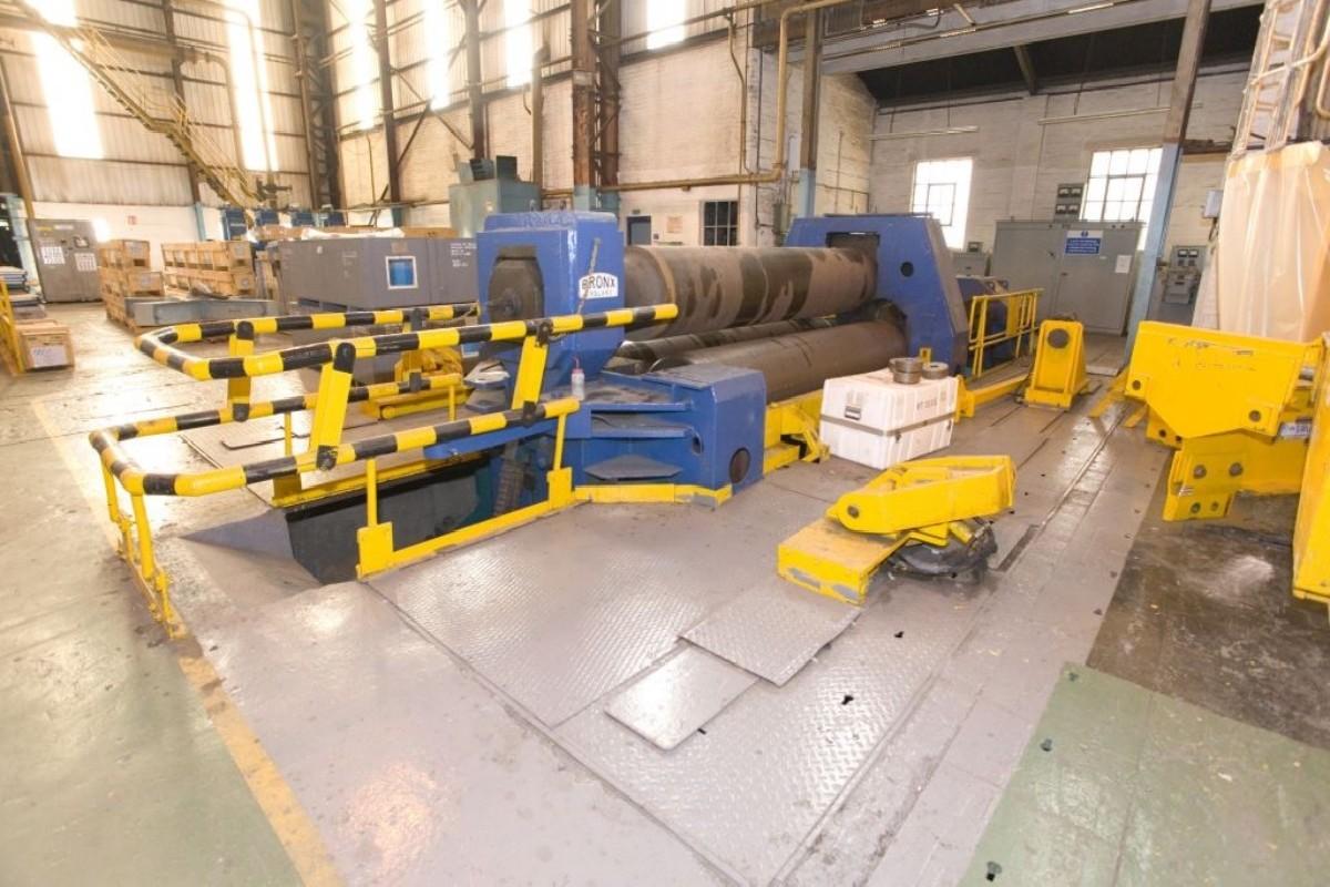 3-вальц. листогибочная машина BRONX  фото на Industry-Pilot