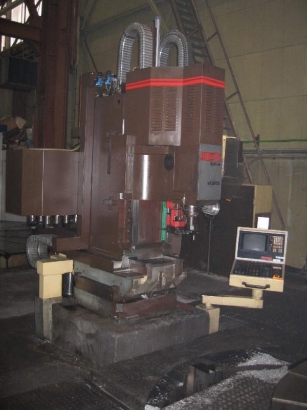 Обрабатывающий центр - вертикальный NORTE VS 2000 фото на Industry-Pilot