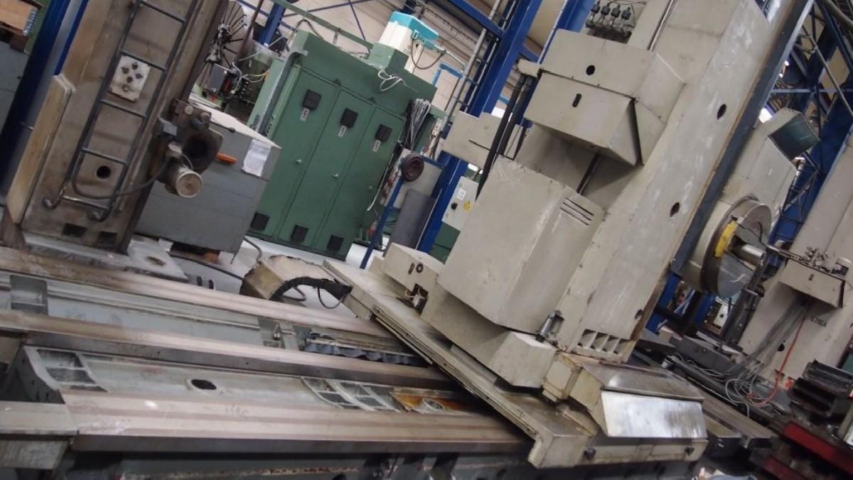 Горизонтальный расточный станок с неподвижной плитой UNION BFP 130-6 фото на Industry-Pilot