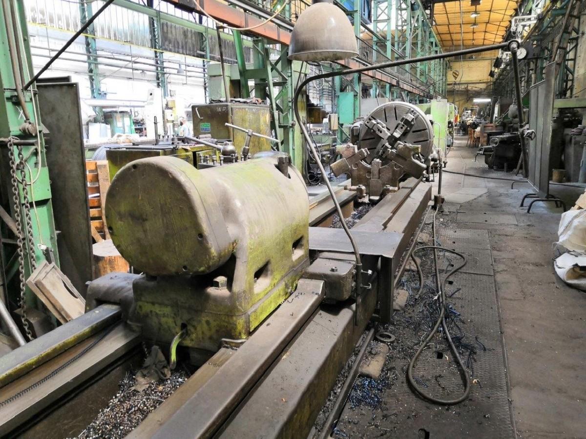 Тяжёлый токарный станок SKODA SR 1000 x 8000 фото на Industry-Pilot