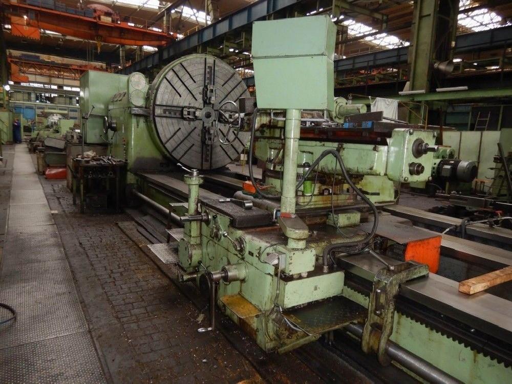 Тяжёлый токарный станок SKODA S 2100 x 10000 фото на Industry-Pilot