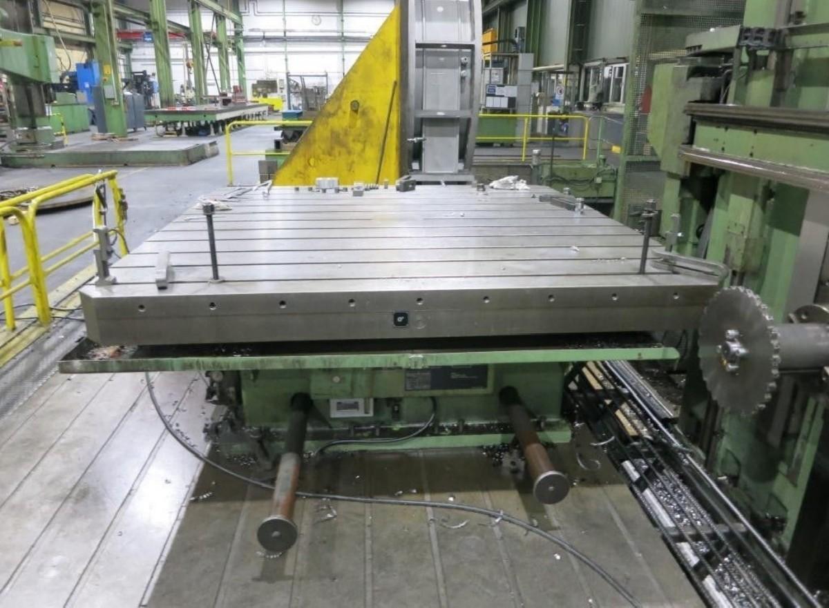 Горизонтальный расточный станок с неподвижной плитой WOTAN Rapid 3 K Sinumerik 850 M фото на Industry-Pilot