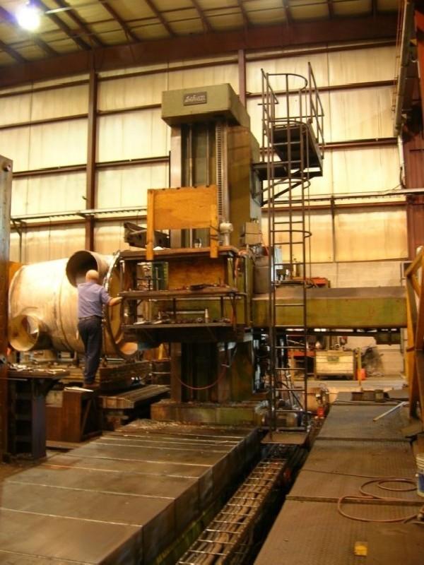 Горизонтальный расточный станок с неподвижной плитой DEFUM WHB 150 фото на Industry-Pilot