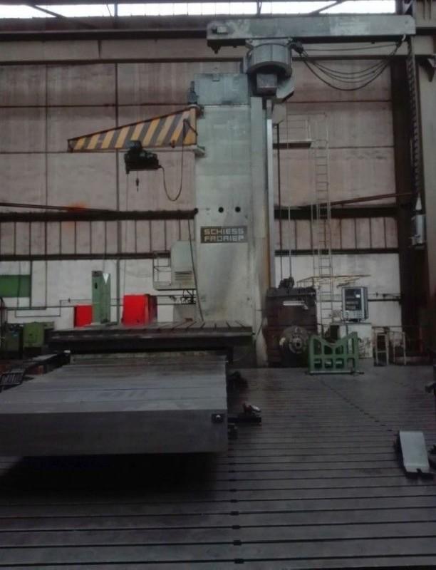 Горизонтальный расточный станок с неподвижной плитой SCHIESS-FRORIEP 4FB 36/22,5 CNC фото на Industry-Pilot