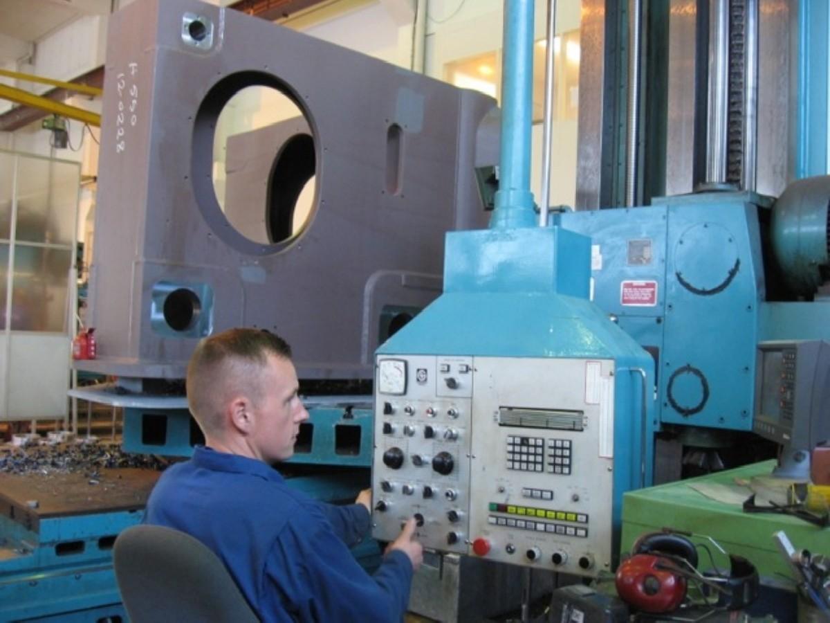 Горизонтально-расточной станок GIDDINGS & LEWIS G130T фото на Industry-Pilot