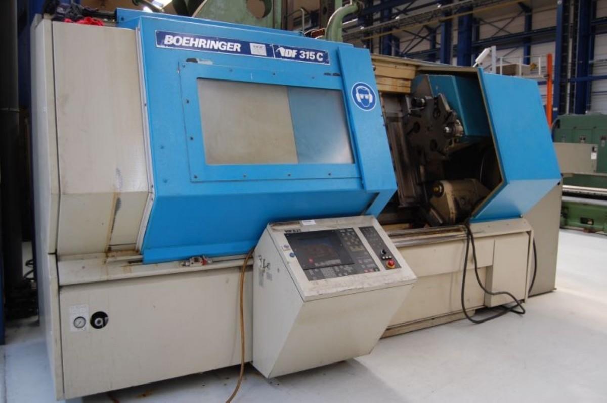 Токарный станок с ЧПУ VDF- BOEHRINGER 315 C фото на Industry-Pilot