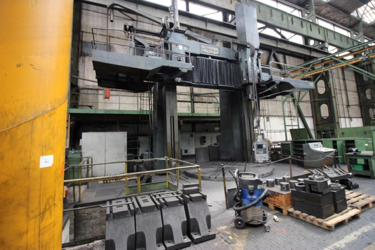 Карусельно-токарный станок - двухстоечный SCHIESS-FRORIEP 3K420/450NC/C фото на Industry-Pilot