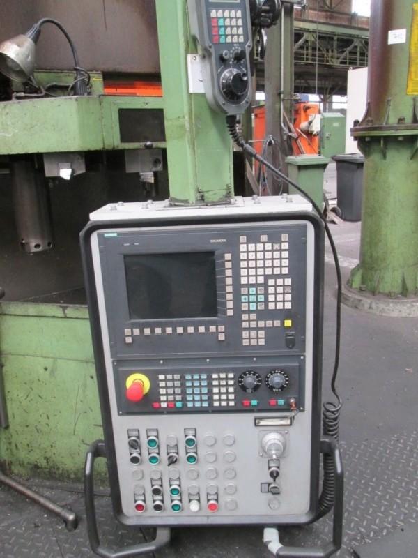 Карусельно-токарный станок одностоечный SCHIESS 16DS125 840D фото на Industry-Pilot