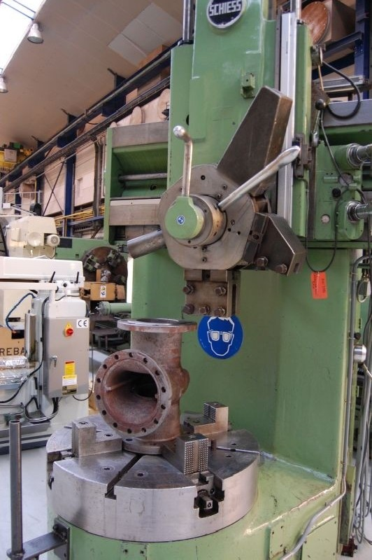 Карусельно-токарный станок одностоечный SCHIESS 12 EK 85 фото на Industry-Pilot