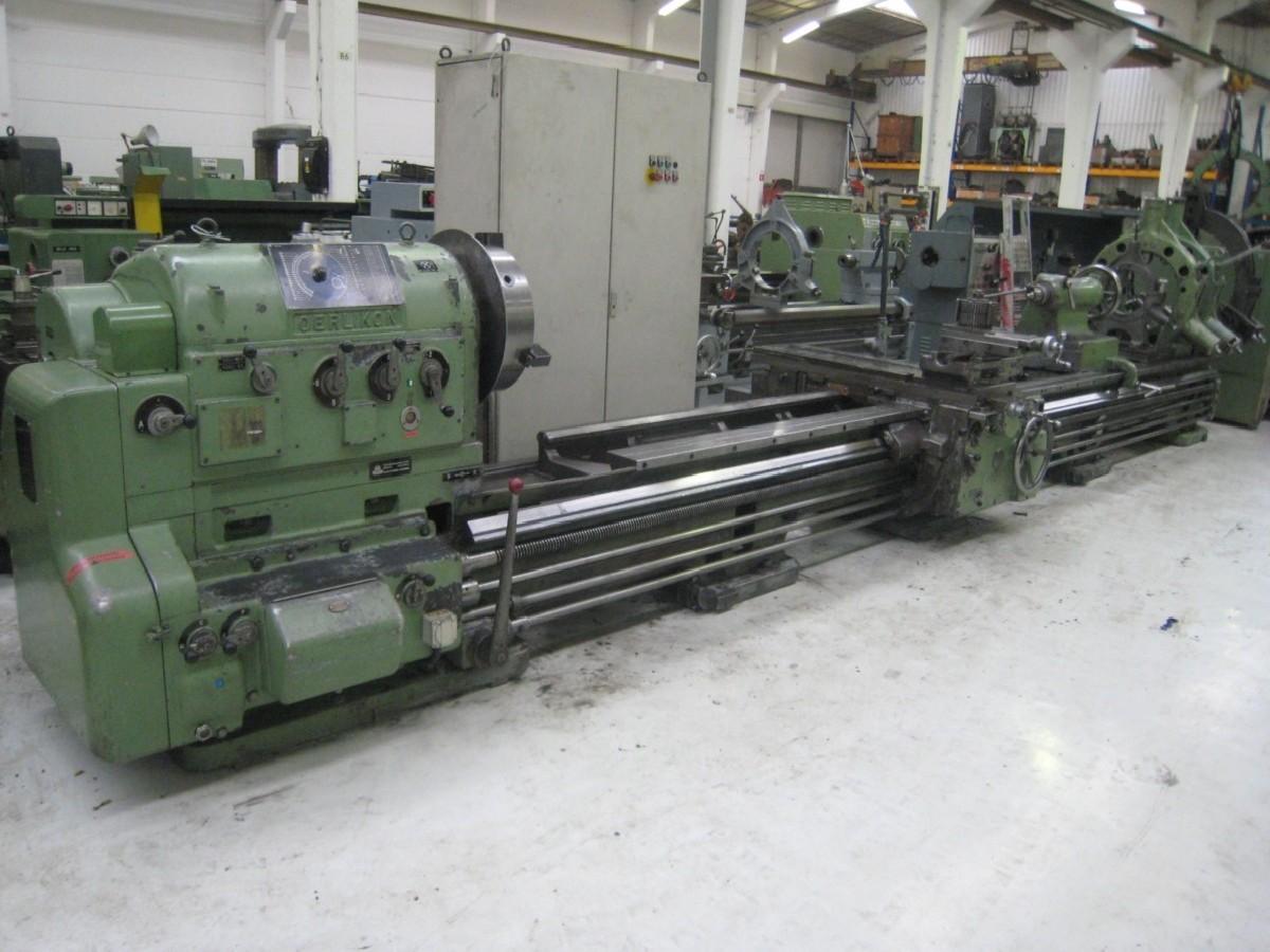 Токарно-винторезный станок OERLIKON DM4A фото на Industry-Pilot