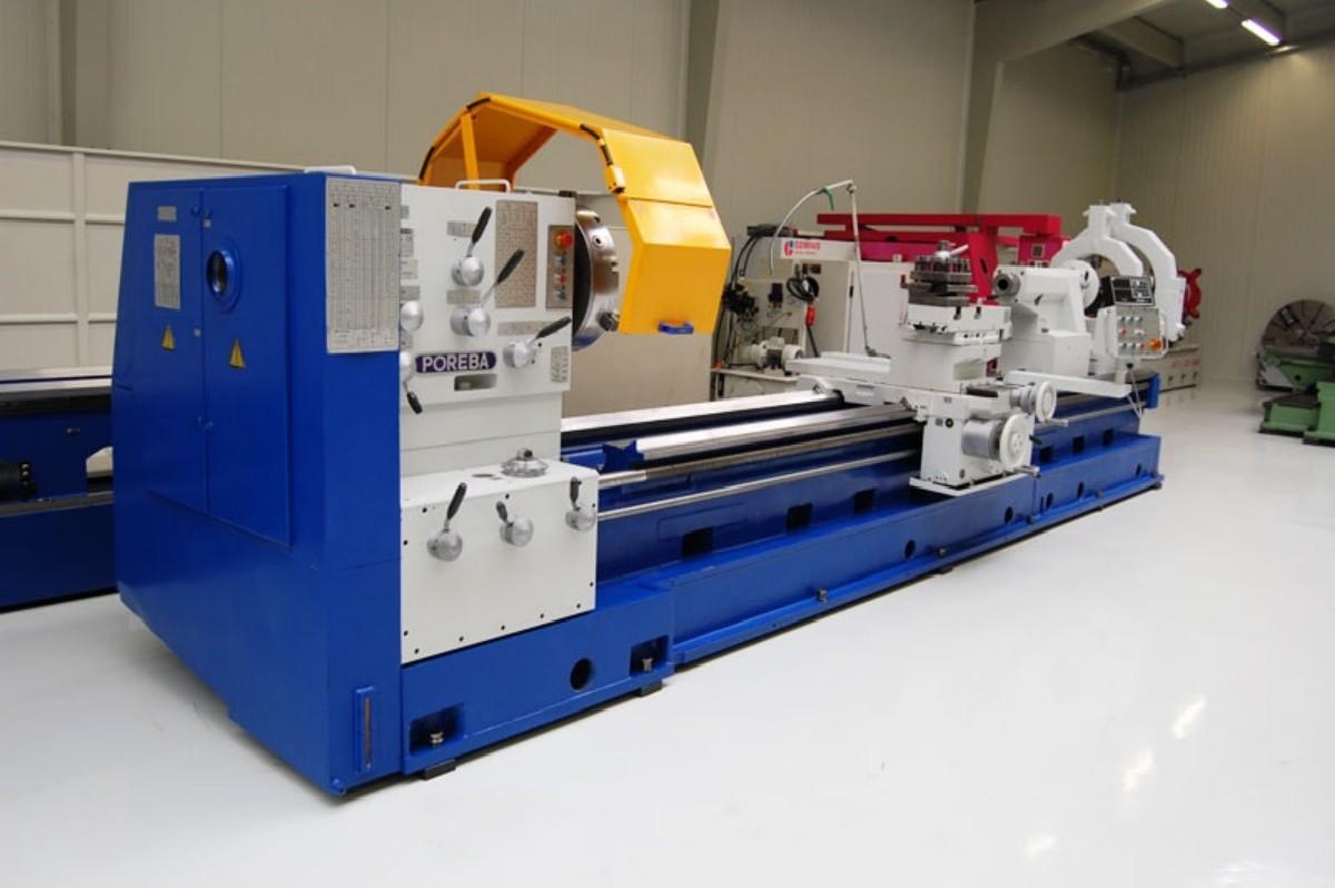 Токарно-винторезный станок POREBA TRP 110/4 M фото на Industry-Pilot