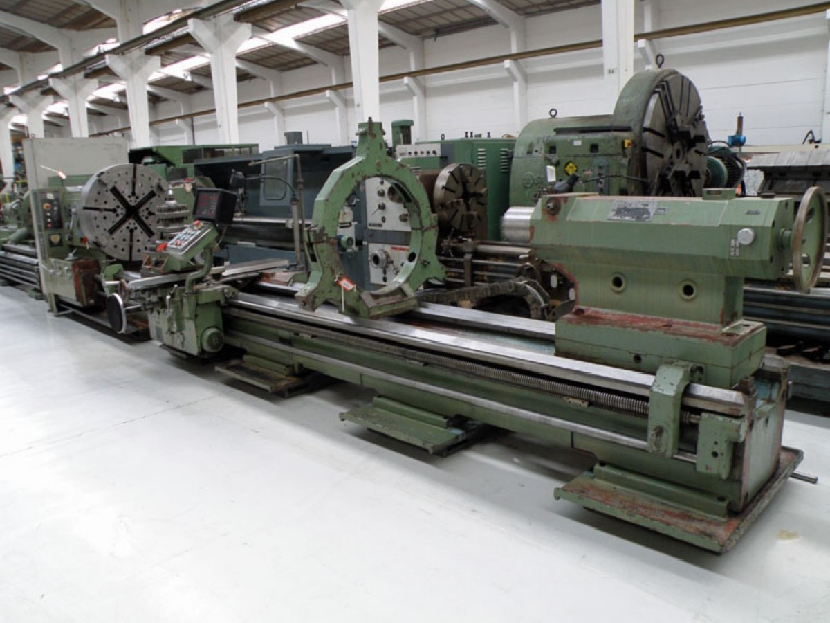 Токарно-винторезный станок POREBA TR 11582 фото на Industry-Pilot