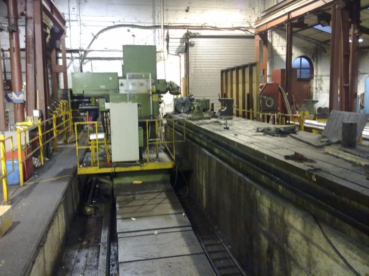 Фрезерный станок с подвижной стойкой BUTLER-ELGAMILL Hi-POWER L 8025 фото на Industry-Pilot