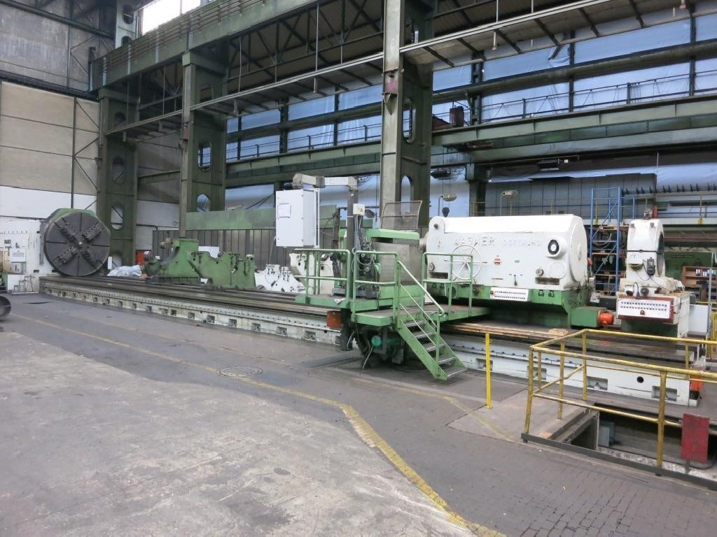 Тяжёлый токарный станок WAGNER D 1500-15 фото на Industry-Pilot