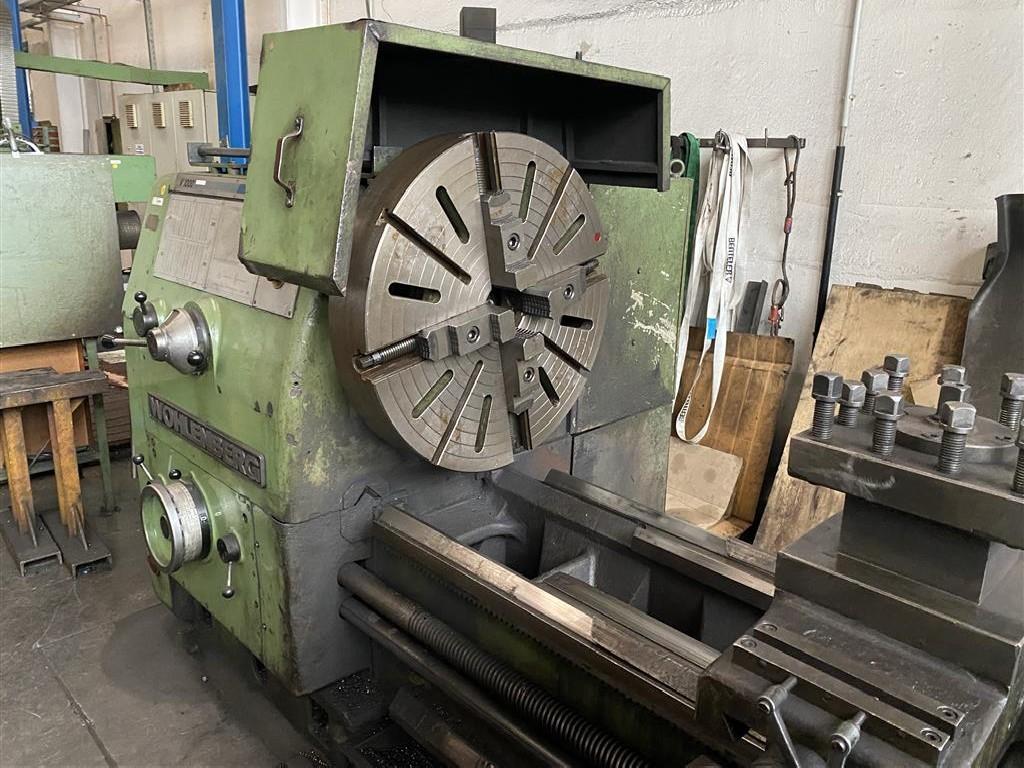 Токарно-винторезный станок Wohlenberg V1000x5000 фото на Industry-Pilot