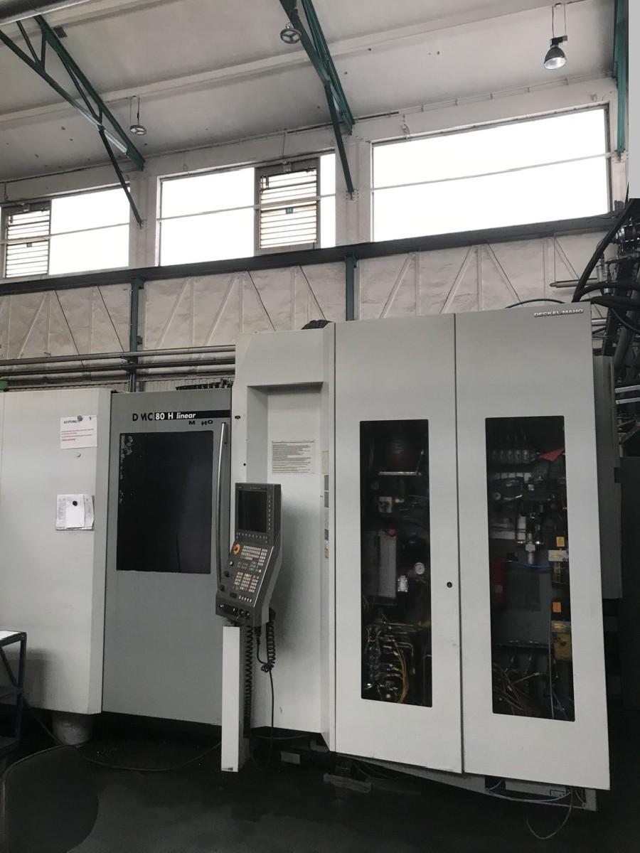 Фрезерный станок - горизонт. DECKEL-MAHO (DMG) DMC 80 H Linear - RS 4 фото на Industry-Pilot