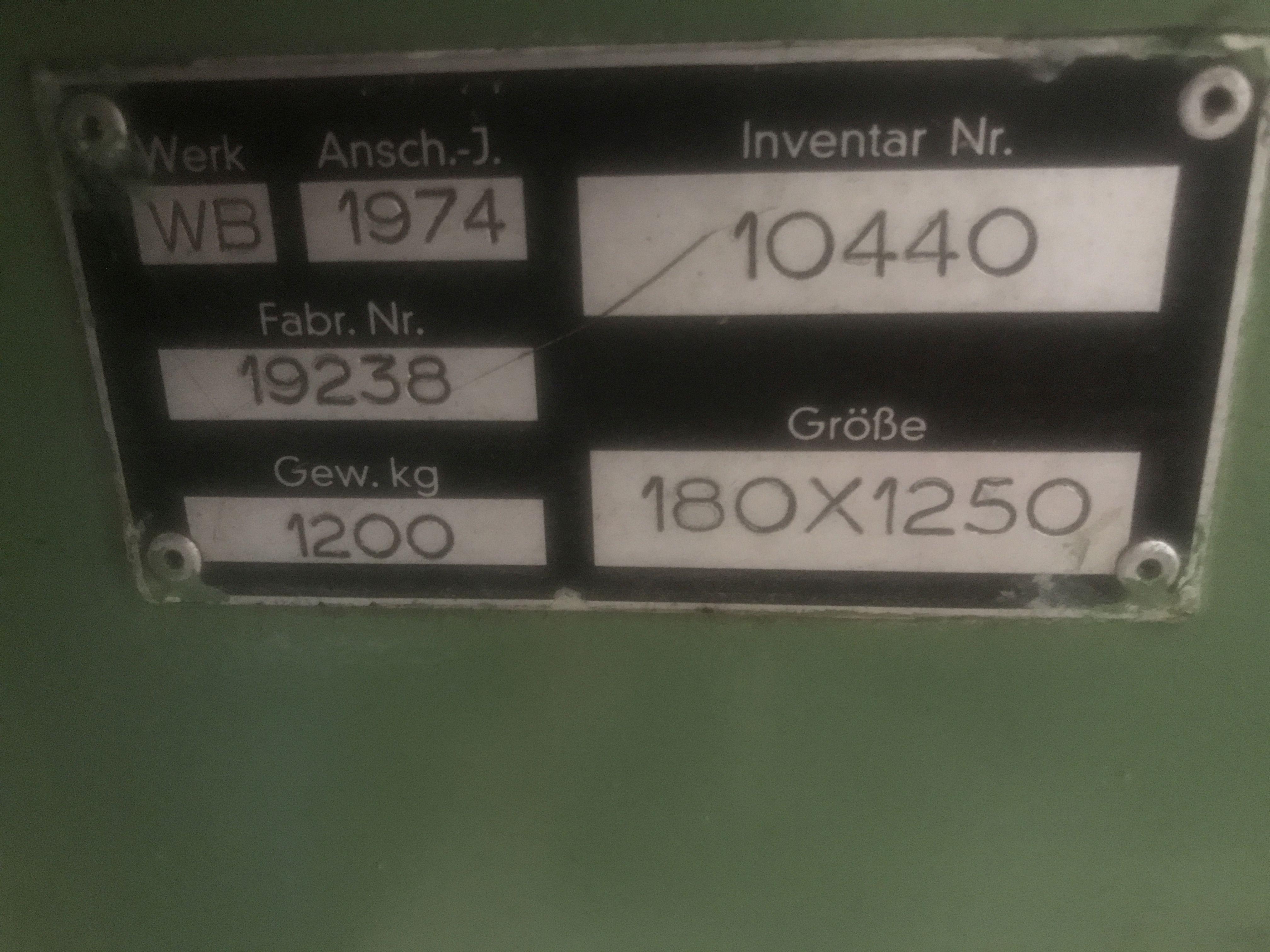 Токарный станок с ручным управлением DIEDESHEIM CUMBRE WB фото на Industry-Pilot